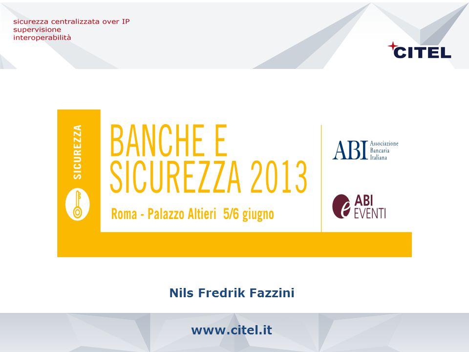 www.citel.it Nils Fredrik Fazzini