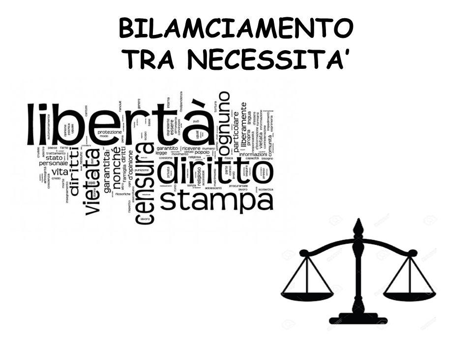 BILAMCIAMENTO TRA NECESSITA'