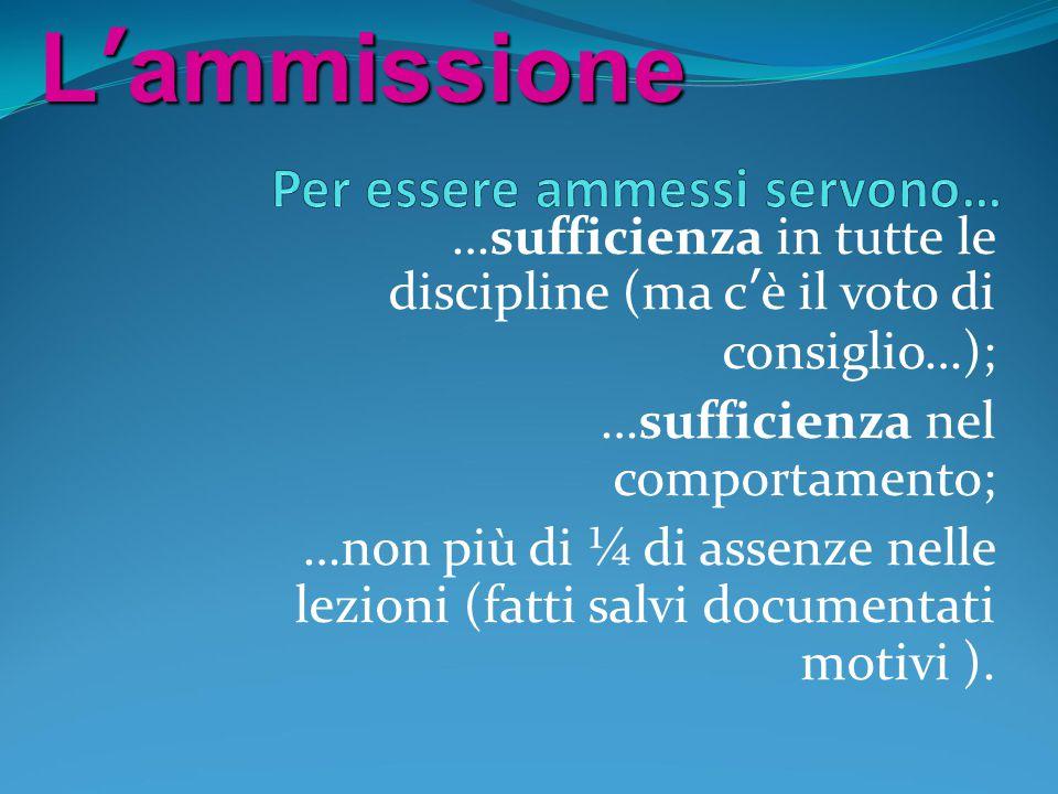 Un esempio Giudizio di idoneità = 8 Voti nelle singole prove d'esame: italiano 7 + matematica 7 + inglese 7 + francese 7 + INValSI 6 + orale 8 = 42 Voto finale: 8 + 42 = 50 : 7 = 7,1 = 7