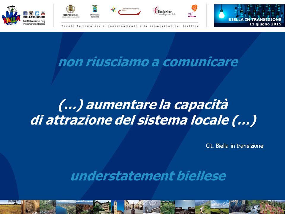 (…) aumentare la capacità di attrazione del sistema locale (…) Cit.