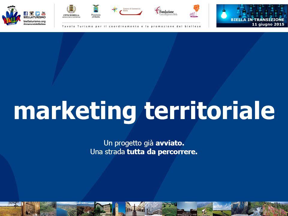 Un progetto già avviato. Una strada tutta da percorrere. marketing territoriale