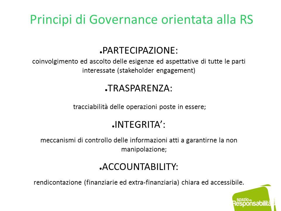 Accountability Il concetto di accountability è molto complesso e si fonda sul binomio autonomia /responsabilità degli organi di governo nei confronti degli stakeholder.