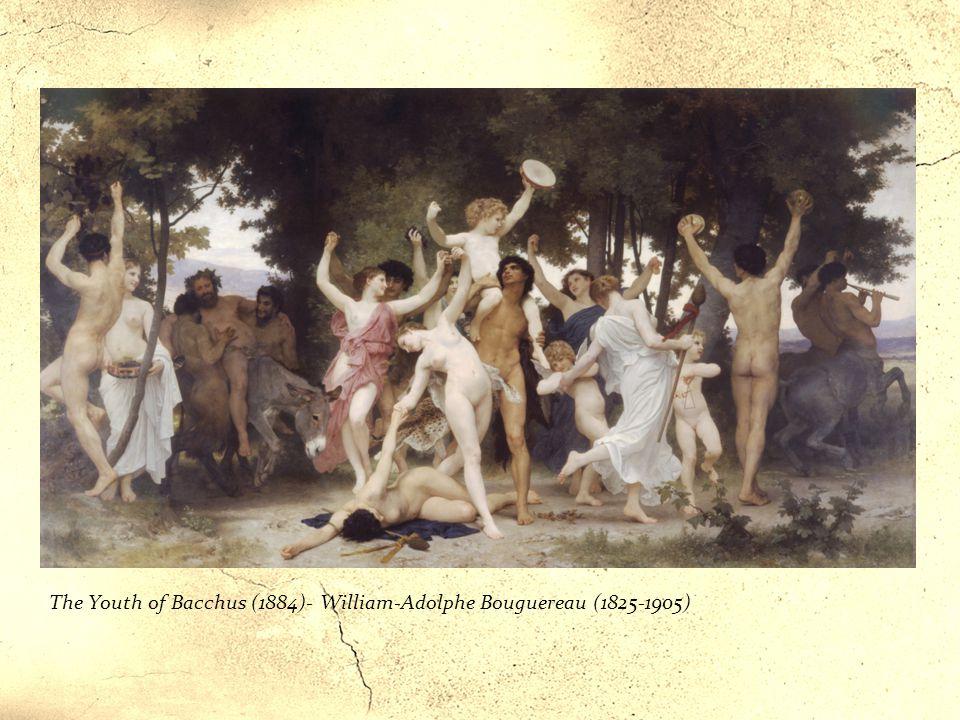 «Tiaso Dionisiaco» Cerveteri, Pelike attica a figure rosse, museo etrusco di Villa Giulia, Roma Elemento tipico del culto di Dioniso è la partecipazio