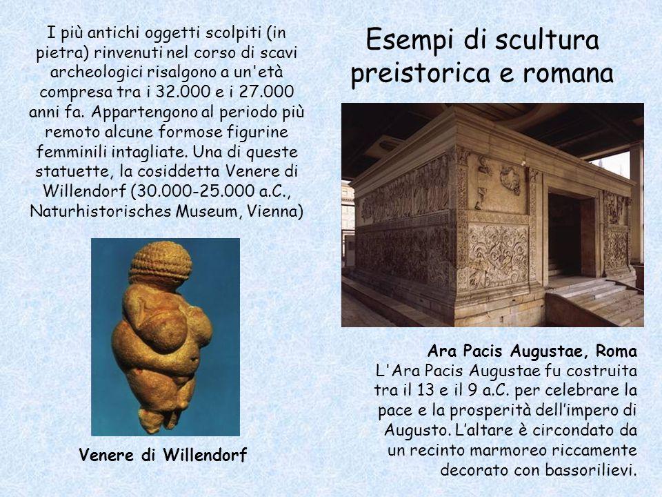 I più antichi oggetti scolpiti (in pietra) rinvenuti nel corso di scavi archeologici risalgono a un età compresa tra i 32.000 e i 27.000 anni fa.