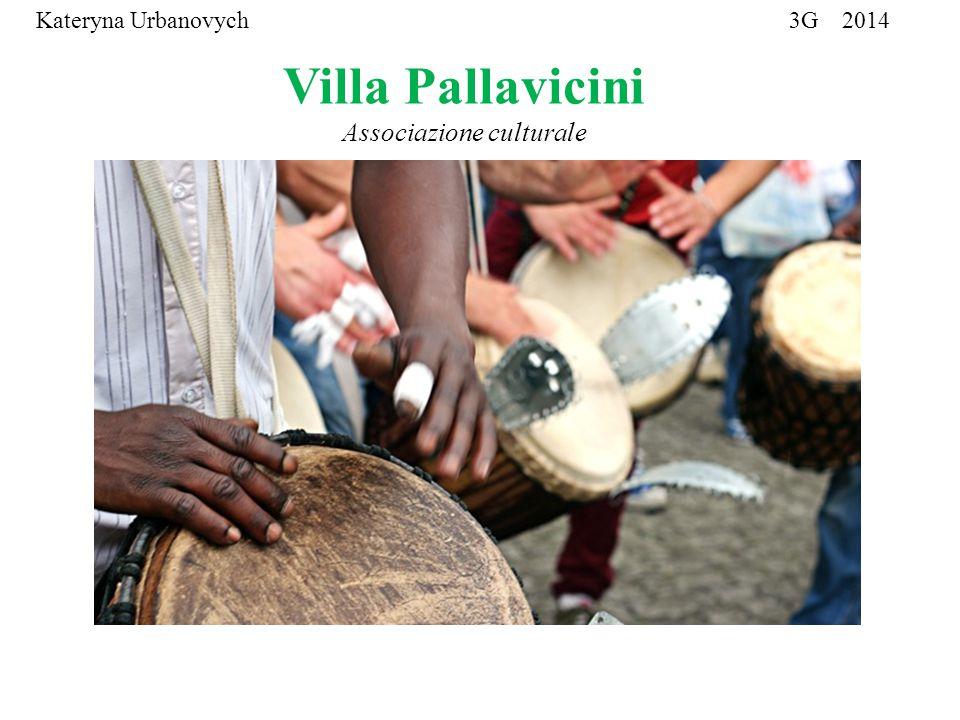 Villa Pallavicini Associazione culturale Associazione Culturale Kateryna Urbanovych 3G 2014