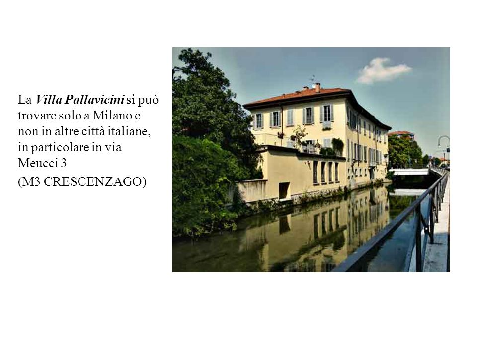  Il luogo in cui si trova la villa è un posto ampio e spazioso, affittato da un privato.