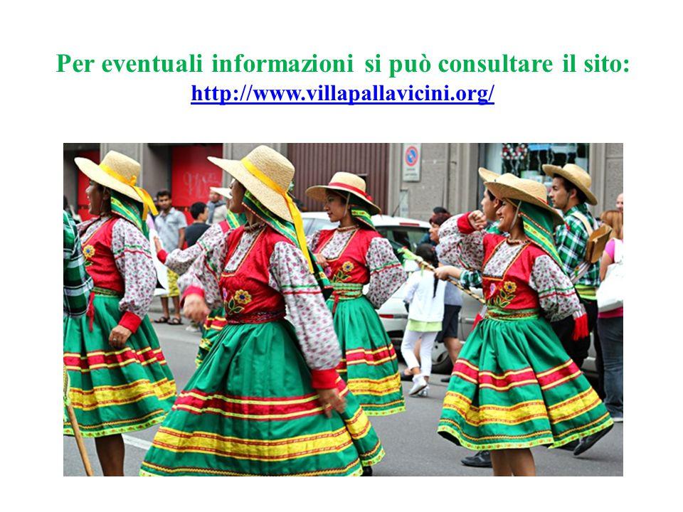 Per eventuali informazioni si può consultare il sito: http://www.villapallavicini.org/ http://www.villapallavicini.org/