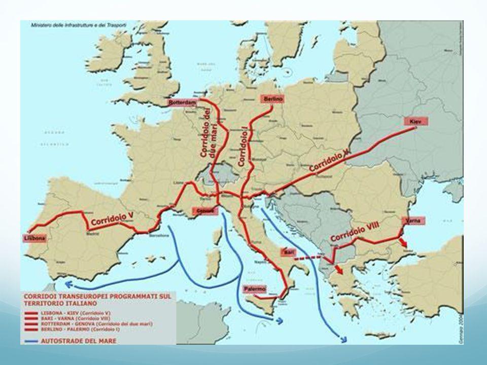 L Italia ospita i segretariati dei corridoi paneuropei 5 e 8, i due grandi assi per il trasporto in Europa: lo hanno deciso i ministri degli Esteri dei sette paesi (Italia, Slovenia, Croazia, Bosnia-Erzegovina, Jugoslavia, Albania e Grecia) dell' iniziativa Adriatico Ionica (IAI) riunitasi a Trieste.