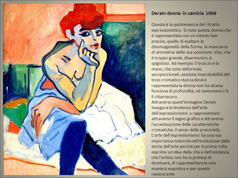Possiamo chiamare espressionista anche Cimabue per l'espressione dolente del cristo