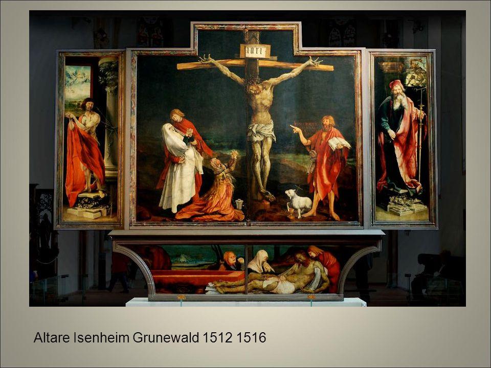 Altare Isenheim Grunewald 1512 1516