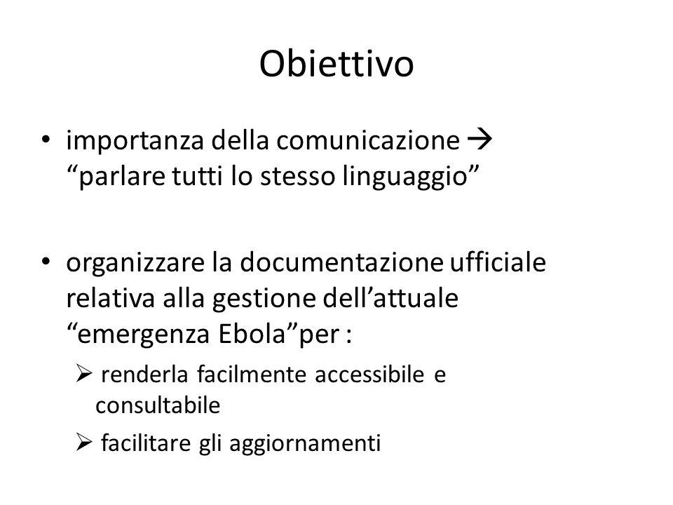 """Obiettivo importanza della comunicazione  """"parlare tutti lo stesso linguaggio"""" organizzare la documentazione ufficiale relativa alla gestione dell'at"""