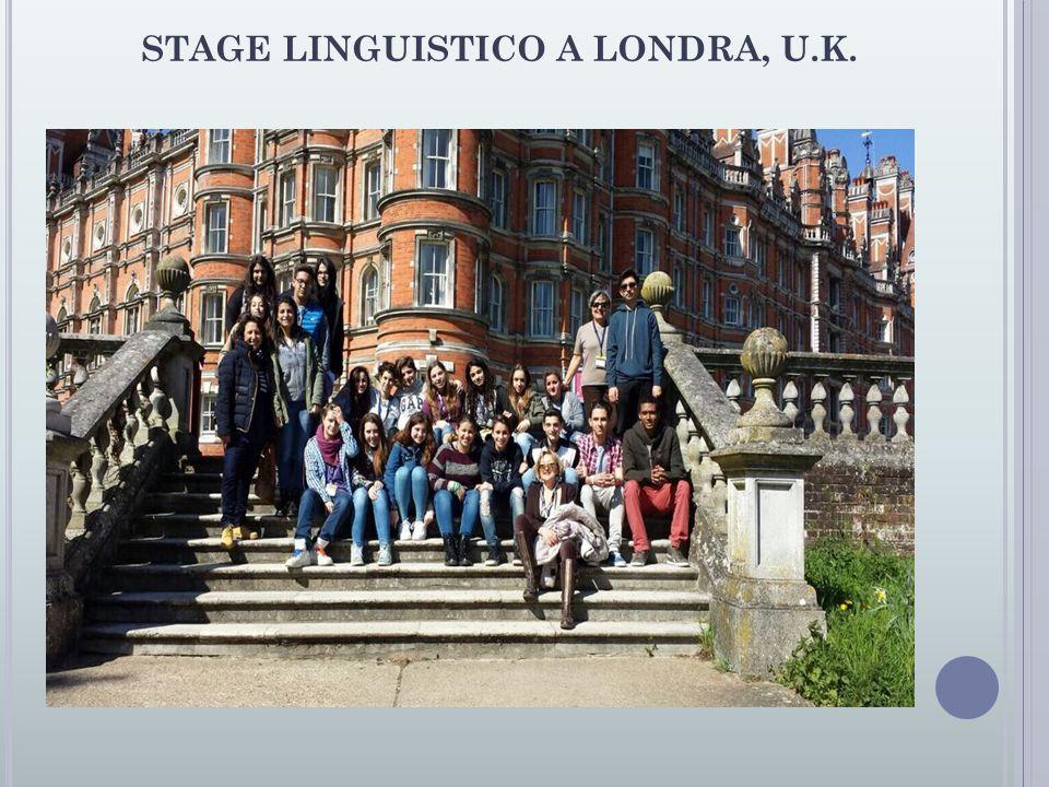 STAGE LINGUISTICO A LONDRA, U.K.