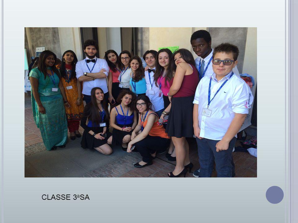 CLASSE 3 a SA