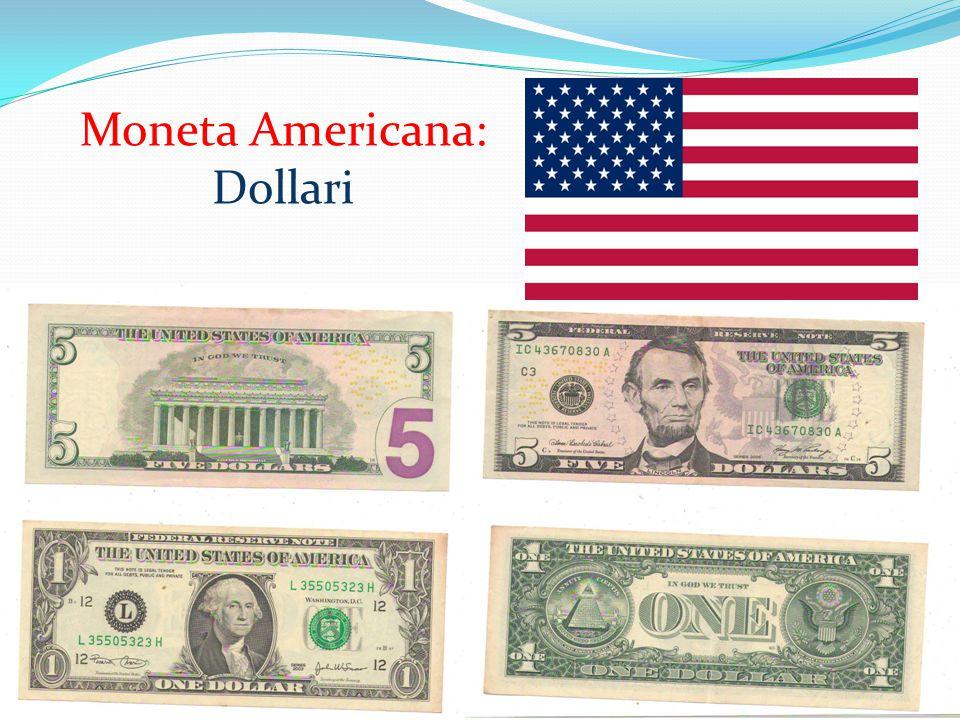 Moneta Americana: Dollari