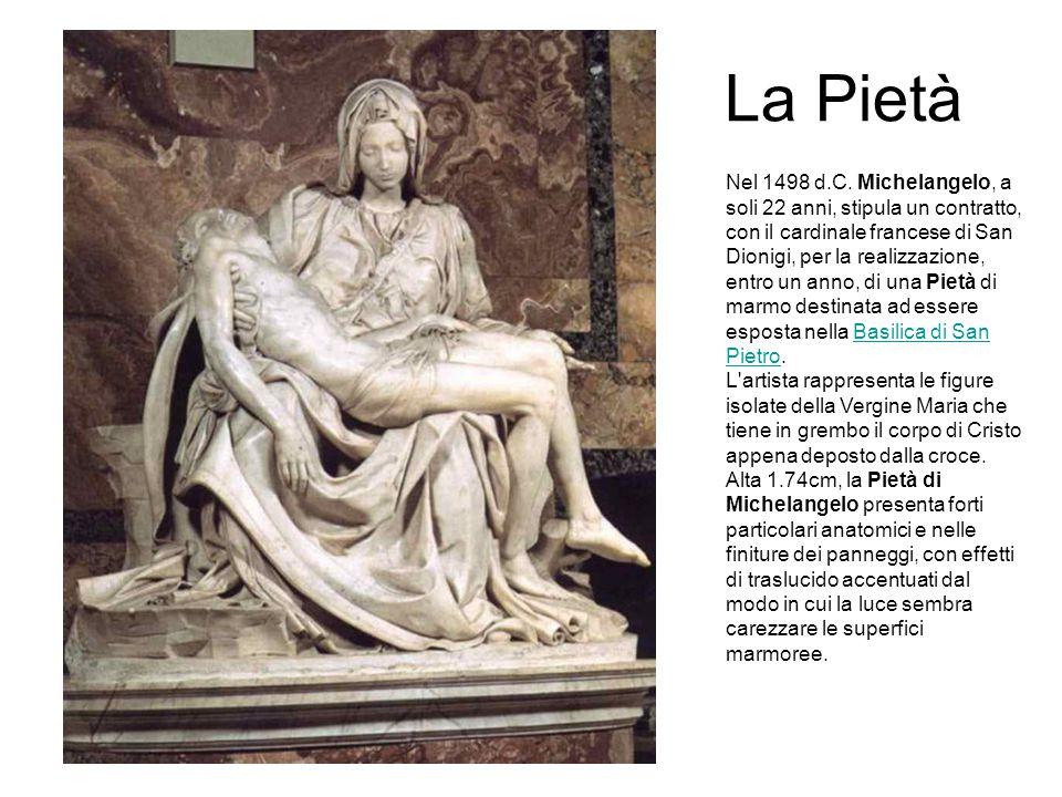 La Pietà Nel 1498 d.C.