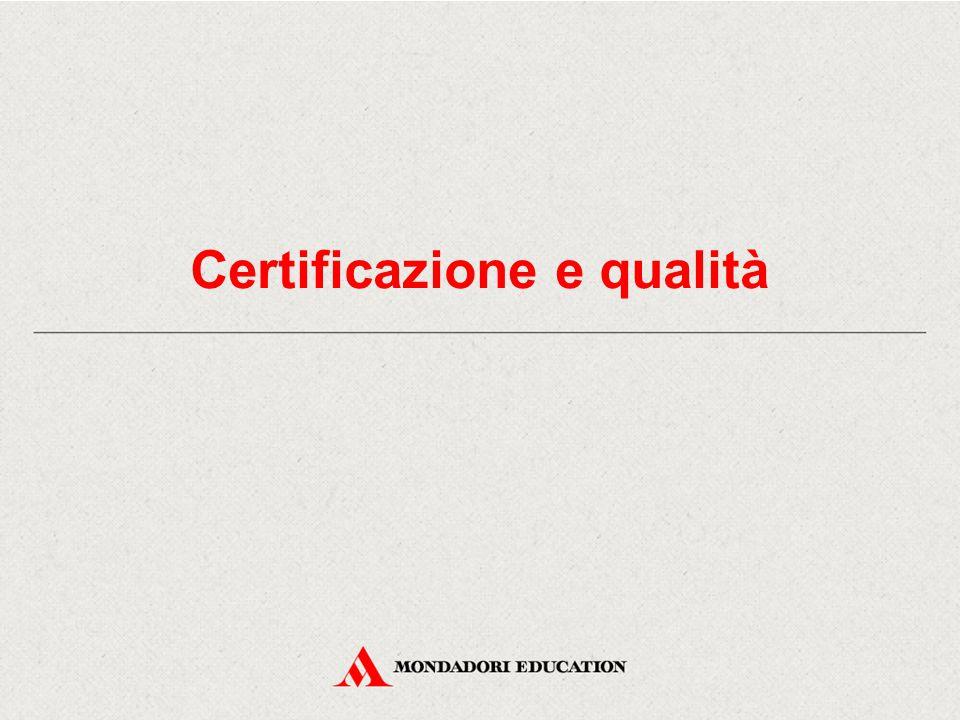 Certificazione e qualità