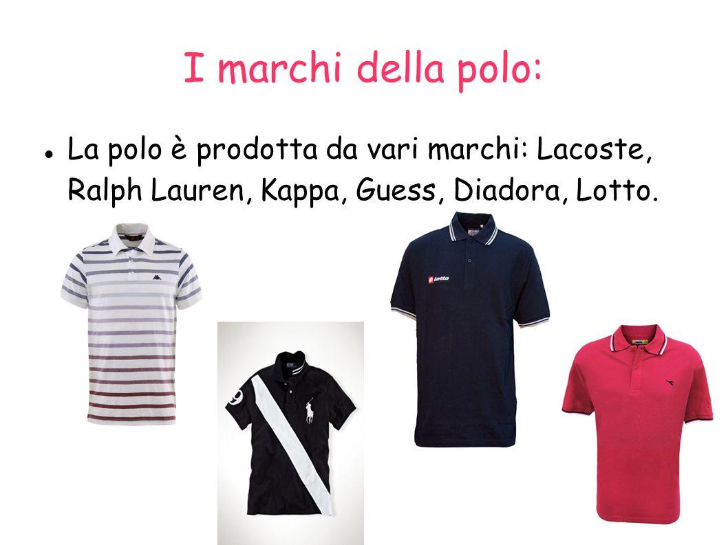 Lacoste: Il tennista francese René Lacoste disegnò un nuovo tipo di abbigliamento consistente di una T-shirt e che indossò per la prima volta nel 1926.