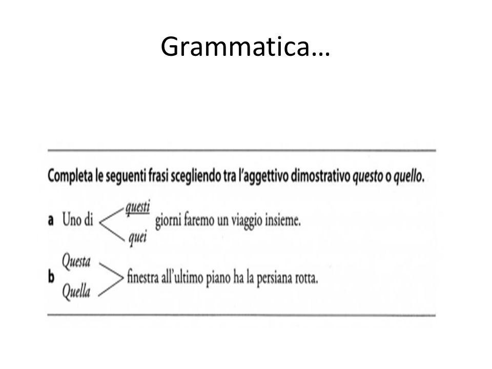 Grammatica…