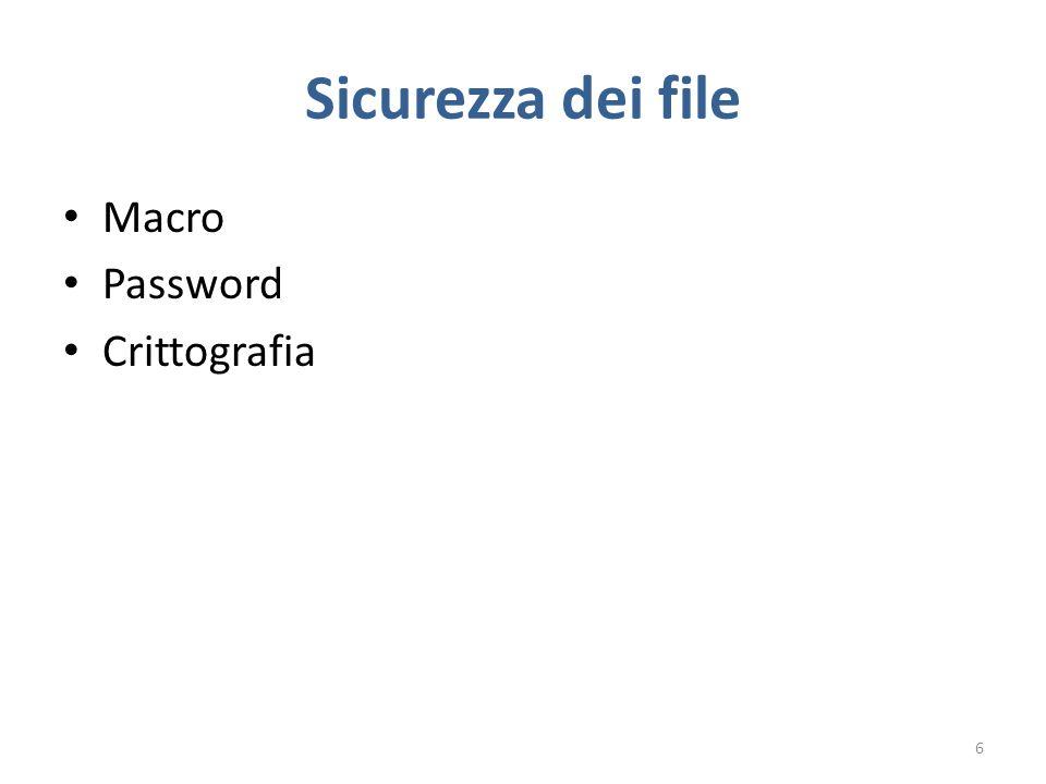 USO SICURO DEL WEB S EZIONE 4 17