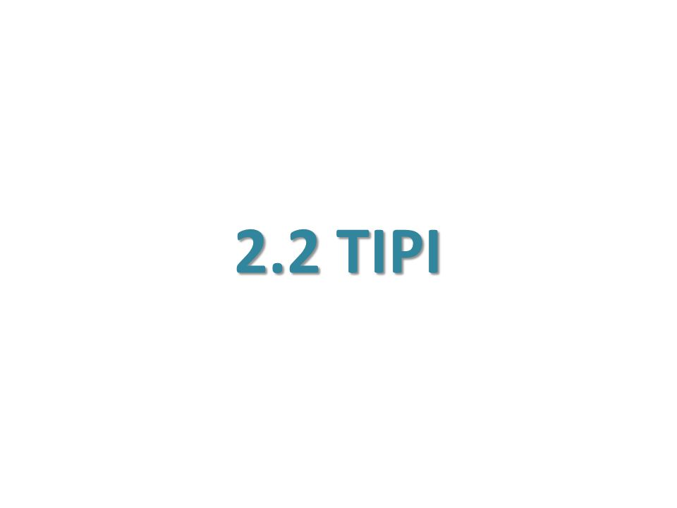 2.2 TIPI