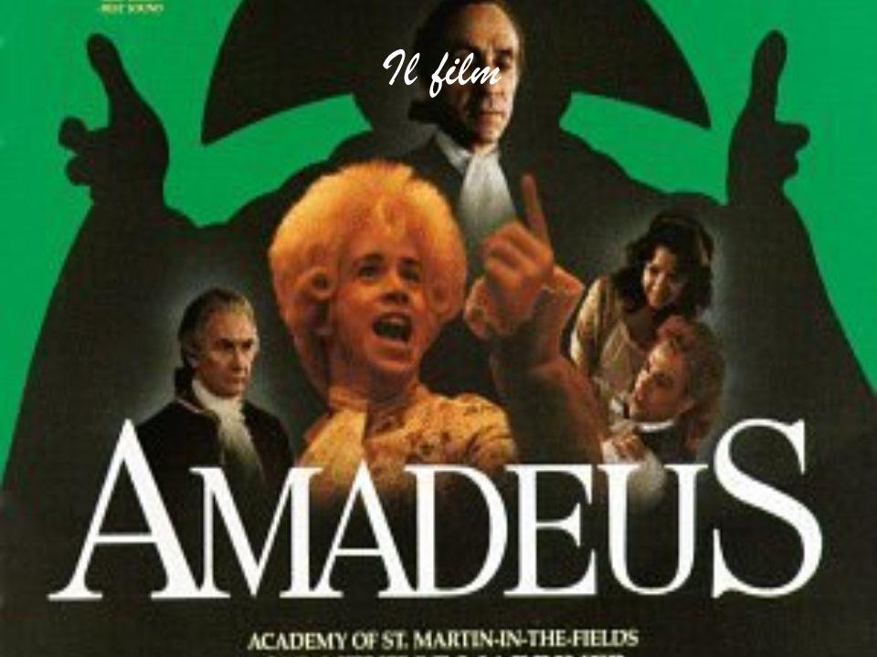 Il film narra gli episodi salienti della vita di Mozart visti con gli occhi di Salieri, Maestro di Cappella nella corte di Vienna, che ripercorre le principali tappe della vita dell'artista, mettendo in evidenza il suo carattere ribelle e il suo comportamento spregiudicato.