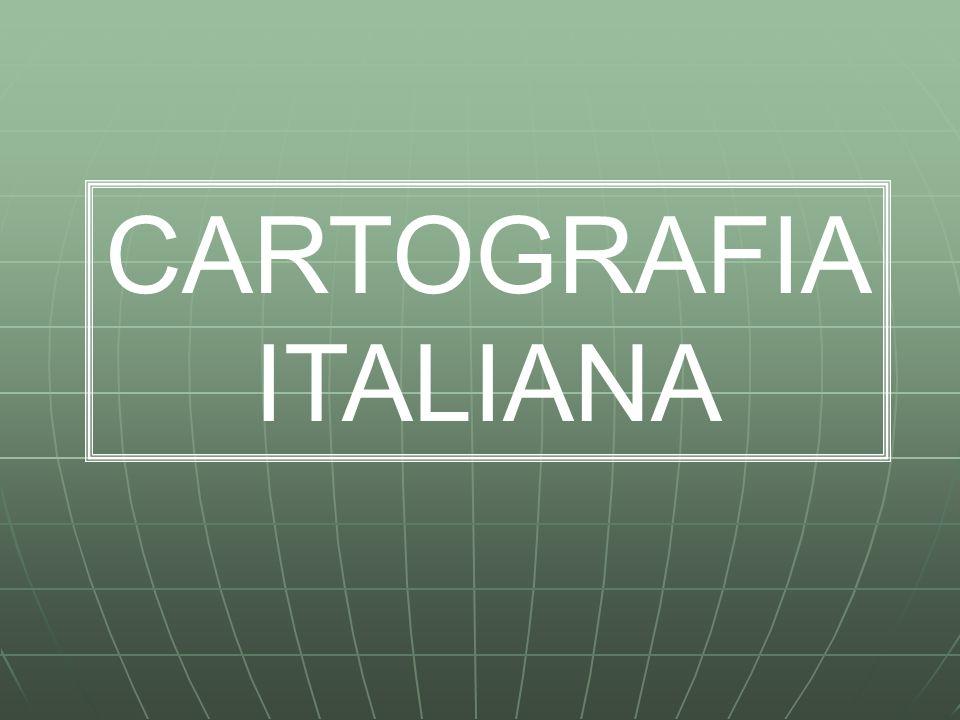 Cartografie dell'Istituto Geografico Militare L'organo ufficiale a livello nazionale per la produzione di cartografie è l'Istituto Geografico Militare Italiano (IGMI) con sede a Firenze.