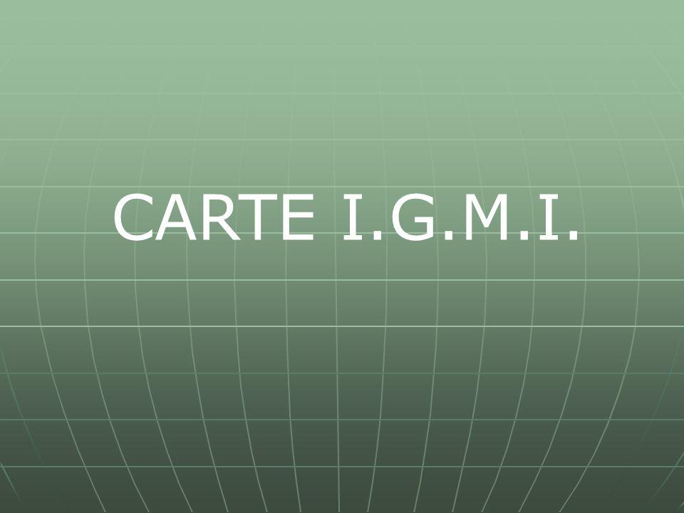 CARTE I.G.M.I.
