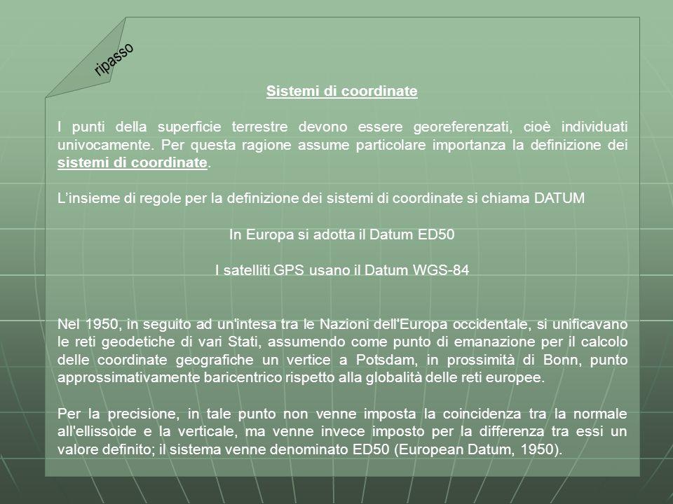 Carta topografica d Italia serie 50 e 50/L La carta si compone di 636 elementi alla scala 1:50 000, denominati fogli , che hanno le dimensioni di 20 in longitudine e 12 in latitudine.