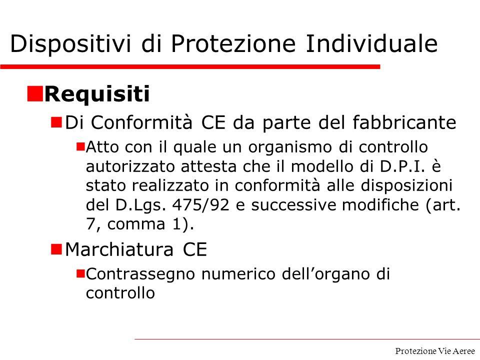 Protezione Vie Aeree Requisiti Di Conformità CE da parte del fabbricante  Atto con il quale un organismo di controllo autorizzato attesta che il mode