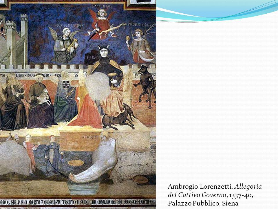 Ambrogio Lorenzetti, Allegoria del Cattivo Governo, 1337-40, Palazzo Pubblico, Siena