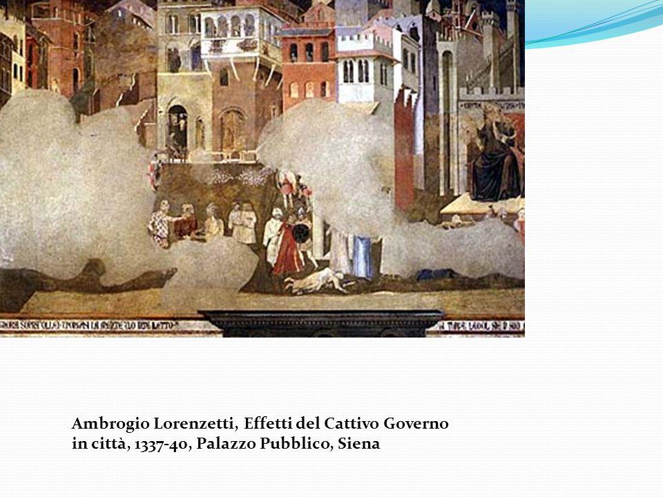 Ambrogio Lorenzetti, Effetti del Cattivo Governo in città, 1337-40, Palazzo Pubblico, Siena