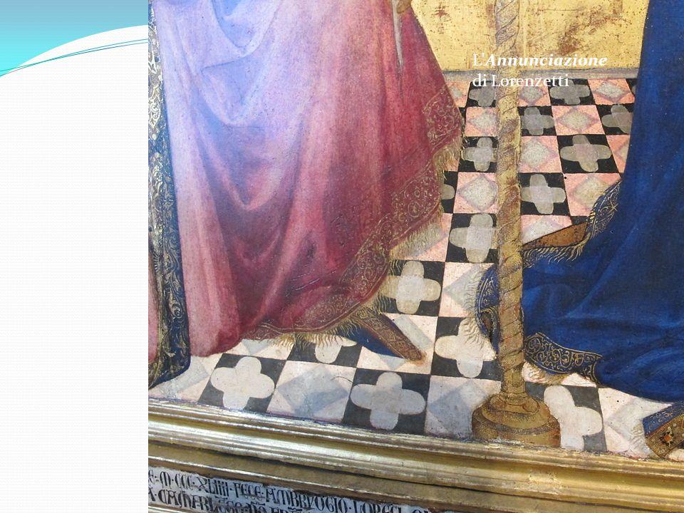 L Annunciazione di Lorenzetti