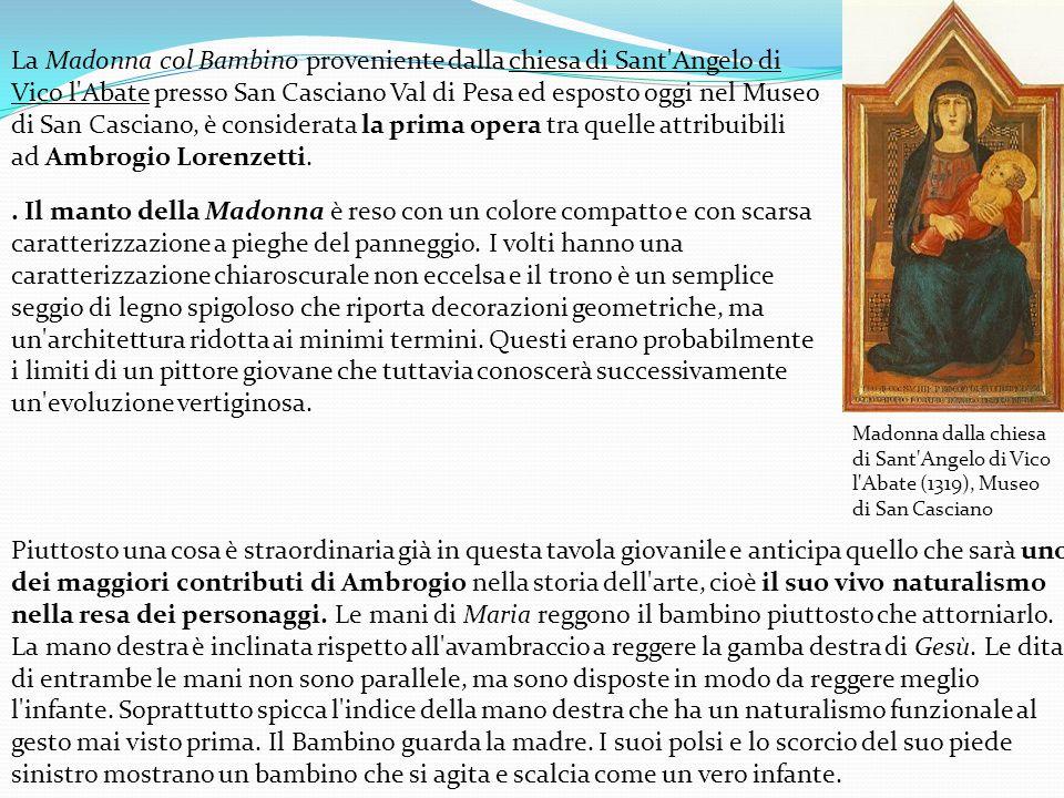 Allegoria degli Effetti del Cattivo Governo in Campagna (1338- 1339), Parete di sinistra della Sala dei Nove, Palazzo Pubblico, Siena