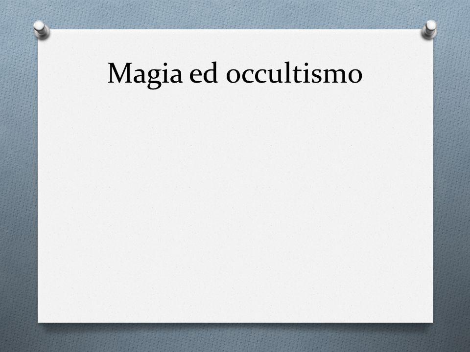 Magia ed occultismo