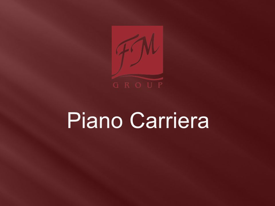 Piano Carriera