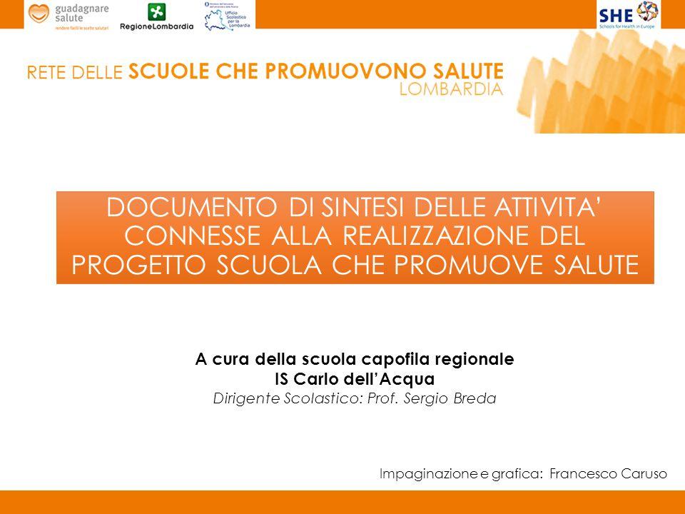PROVINCIA BERGAMO Scuola capofila provinciale: I.C.
