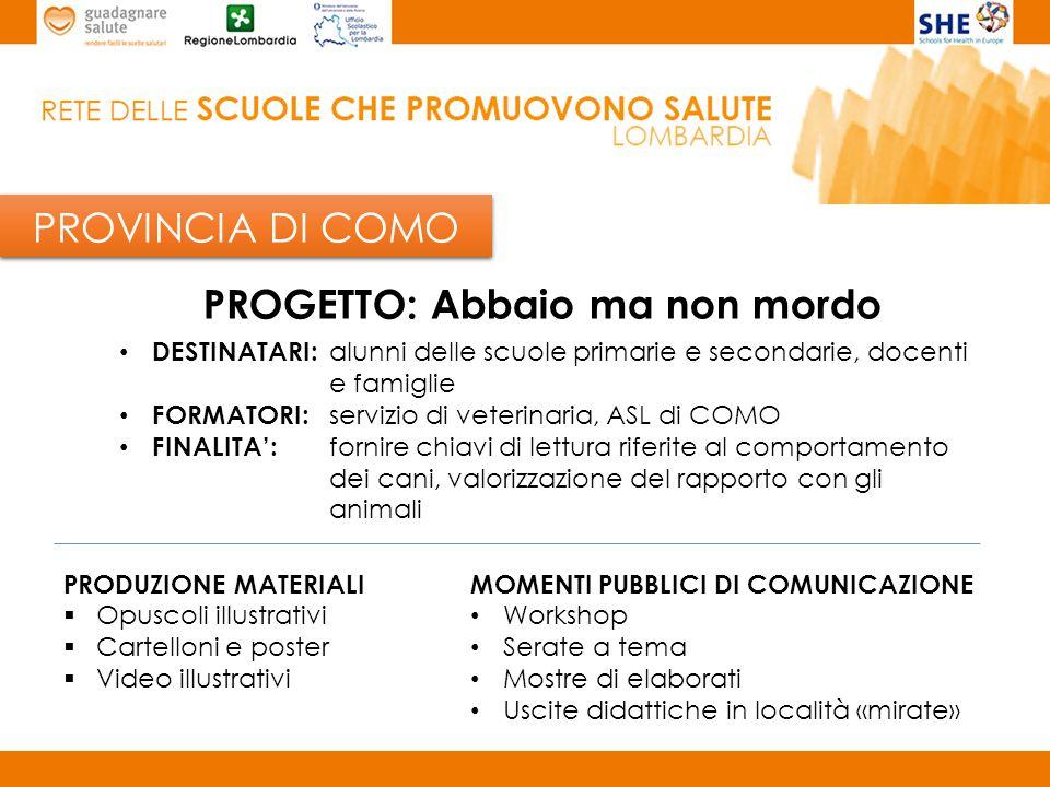 PROVINCIA DI CREMONA Scuola capofila provinciale: I.C.