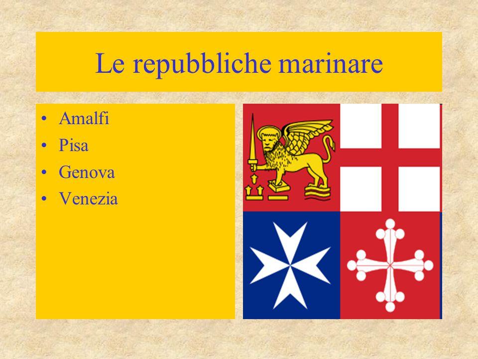 Amalfi Pisa Genova Venezia