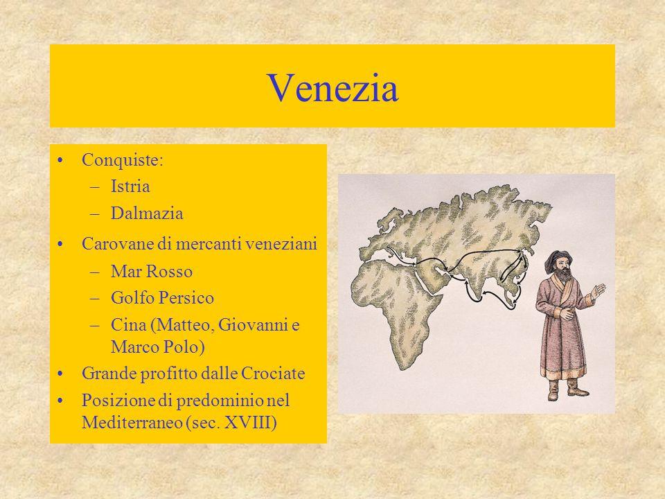 Venezia Costituzione complessa –Doge –Consiglio Minore –Consiglio dei Pregadi (