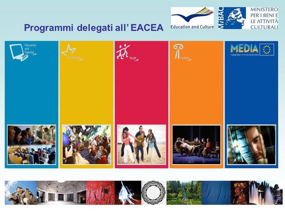 Programmi delegati all' EACEA