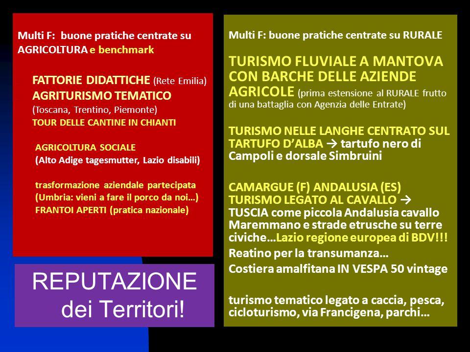 Multi F: buone pratiche centrate su RURALE TURISMO FLUVIALE A MANTOVA CON BARCHE DELLE AZIENDE AGRICOLE (prima estensione al RURALE frutto di una batt