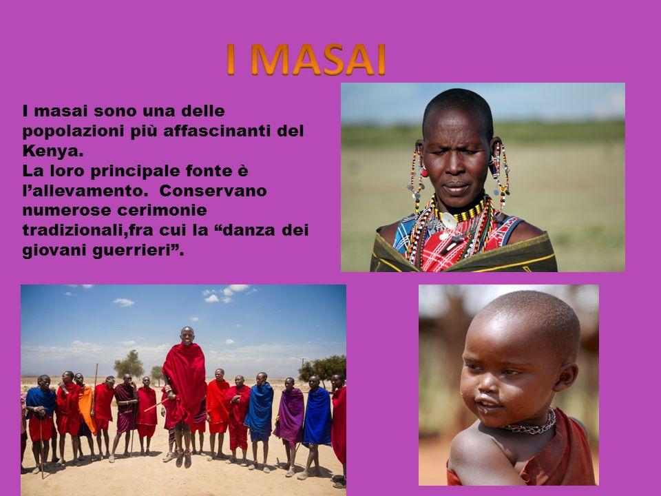 I masai sono una delle popolazioni più affascinanti del Kenya.