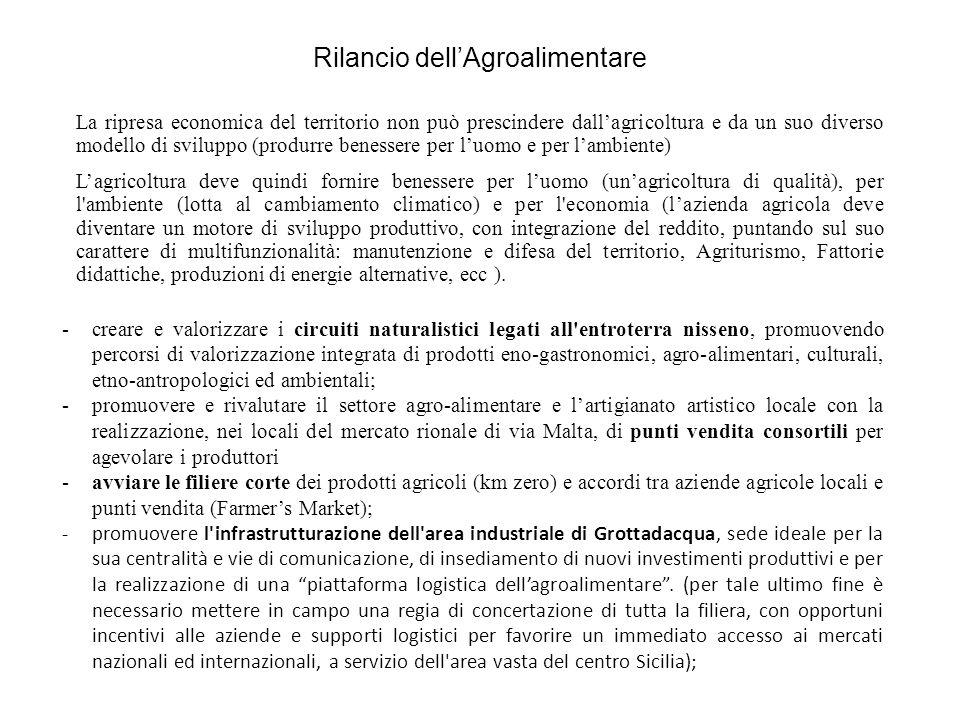 Rilancio dell'Agroalimentare Avviato con le Organizzazioni di Produttori agricoli ( OO.PP.