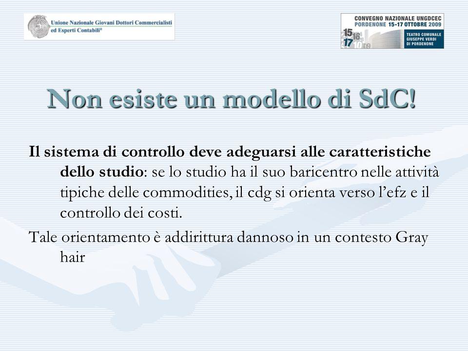 Non esiste un modello di SdC.