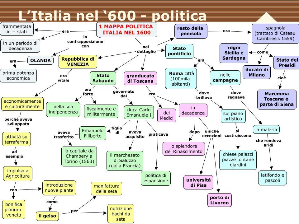 www.polovalboite.it/didattica.htm L'Italia nel '600 - politica