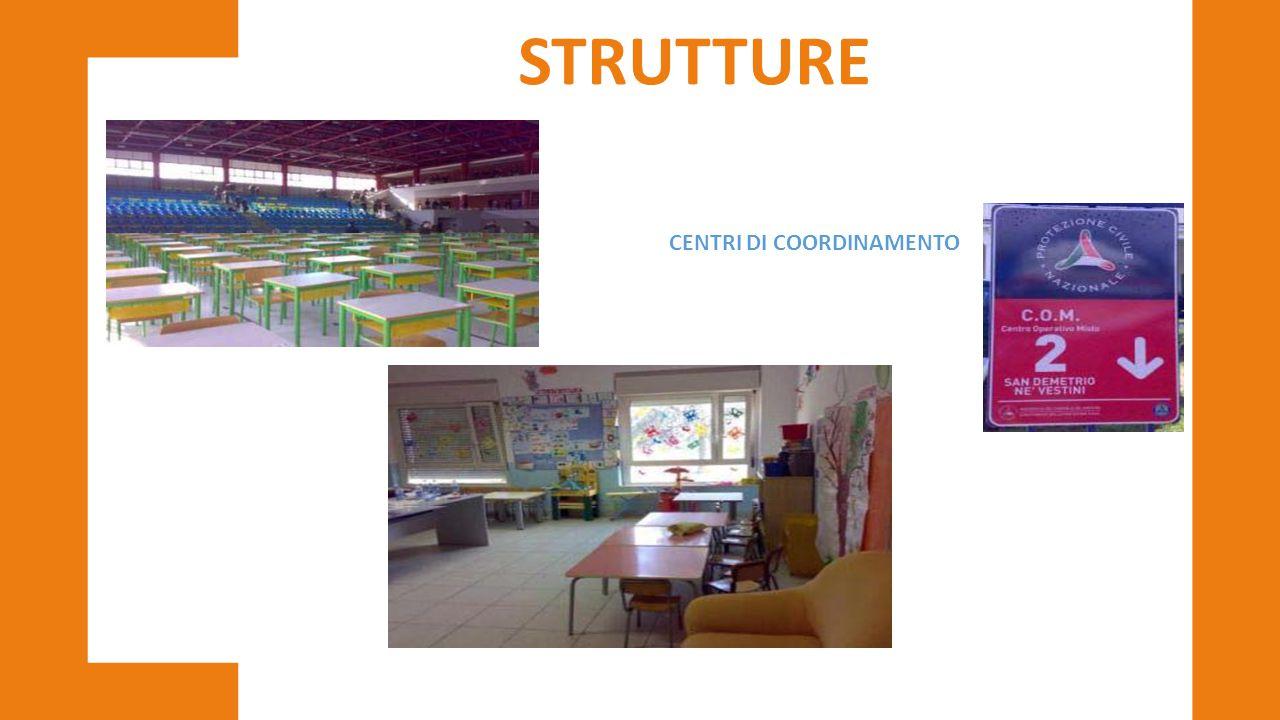 CENTRI DI COORDINAMENTO STRUTTURE