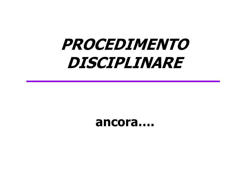 D.Lgs 150/09 e Codice disciplinare Modifiche all'art.