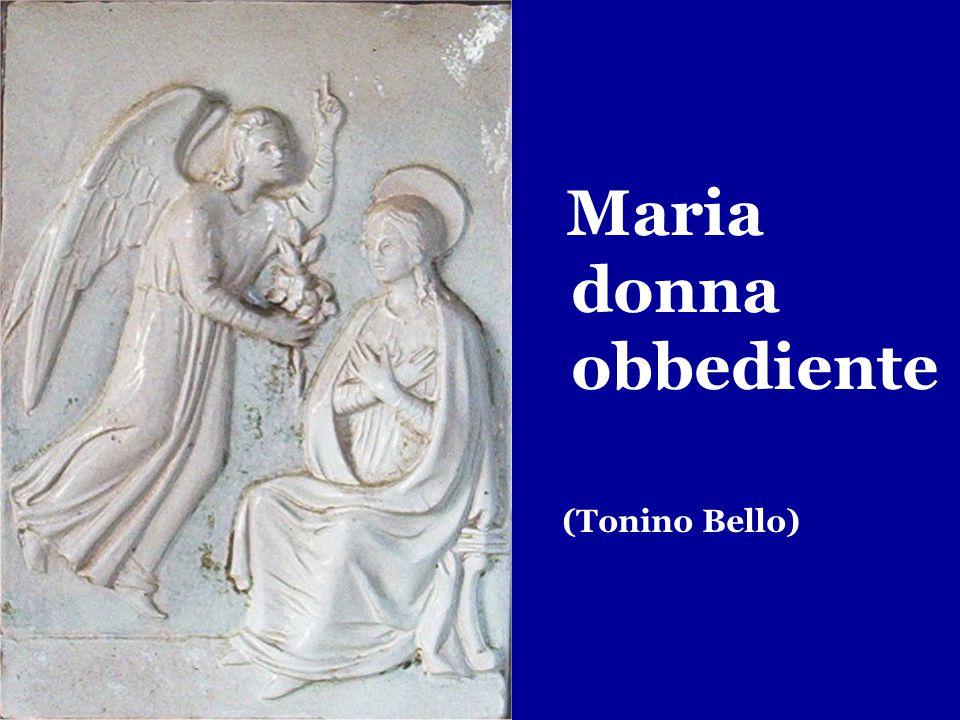 Maria donna obbediente (Tonino Bello)