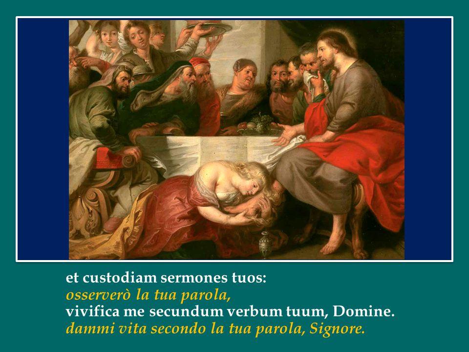 C'è l'amore della donna peccatrice che si umilia davanti al Signore; ma prima ancora c'è l'amore misericordioso di Gesù per lei, che la spinge ad avvicinarsi.