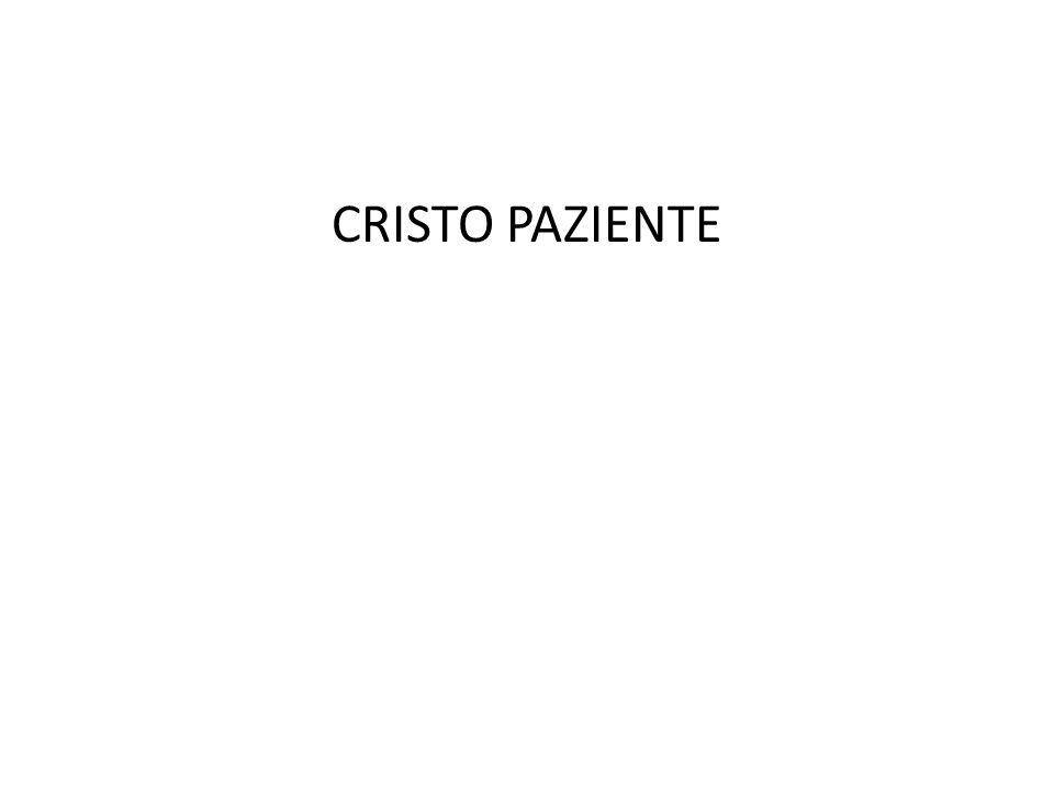 CRISTO PAZIENTE